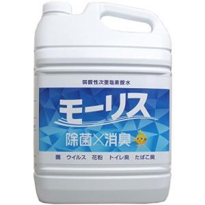 弱酸性次亜塩素酸水 モーリス 5L|n-tools