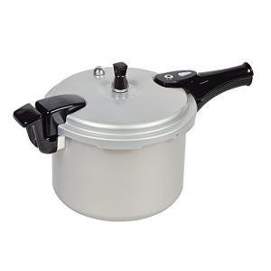 パール金属 ホットクッキング アルミ IH対応 圧力 鍋 6.0L 1升炊 HB-378|n-tools