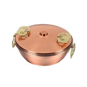 メイドインジャパン 純銅製しゃぶしゃぶ鍋 17cm HB−1789 パール金属(PEARL METAL)|n-tools