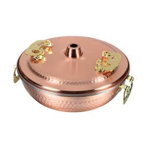 メイドインジャパン 純銅製しゃぶしゃぶ鍋 26cm HB−1790 パール金属(PEARL METAL)|n-tools