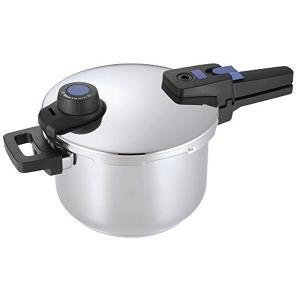 パール金属 圧力鍋 5.0L IH対応 3層底 切り替え式 プレミアムクイックエコHB-3295|n-tools