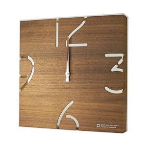 掛時計 PAZZLE 電波時計 ウォールナット YK10-102 ヤマト工芸 yamato japan|n-tools