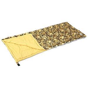 キャプテンスタッグ(CAPTAIN STAG) 寝袋 シュラフ キャンプアウト 封筒型 シュラフ 800 カモフラージュ|n-tools