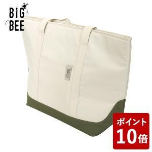BIG BEE クーラートートバック L コットンアイボリー オカトー|n-tools