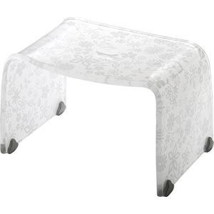 リス 風呂椅子 バスチェアー Sサイズ フィルロ フラワー ホワイト|n-tools