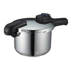 クイックエコ 圧力鍋 4.5L IH対応 3層底 切り替え式 レシピ付 H-5041 パール金属(PEARL METAL)|n-tools
