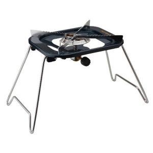 キャプテンスタッグ(CAPTAIN STAG) バーベキュー用 大型五徳ガスバーナーコンロ収納バッグ付 M-8809M-8809|n-tools