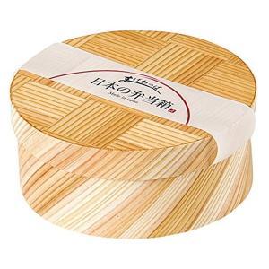 ヤマコー 日本の弁当箱 網代 丸 89355|n-tools
