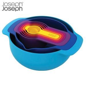 マキノトレーディング JosephJoseph(ジョゼフジョゼフ) ネスト7 ボウル中・小・計量スプーン7点セット|n-tools