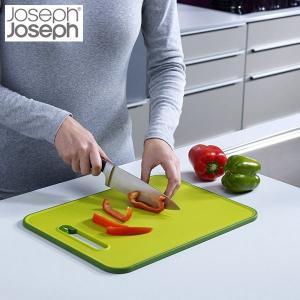 スライス & シャープン まな板スモール グリーン ジョゼフジョゼフ(Joseph Joseph)|n-tools