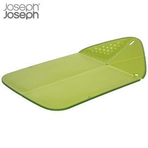 マキノトレーディング 折りたたみまな板 リンス&チョップ プラス グリーン ジョゼフジョゼフ(Joseph Joseph)|n-tools