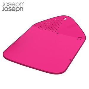 マキノトレーディング 折りたたみまな板 リンス&チョップ プラス ピンク ジョゼフジョゼフ(Joseph Joseph)|n-tools