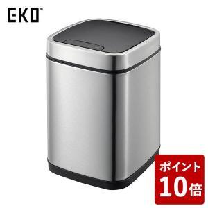 EKO ゴミ箱 エコスマート センサービン ステンレス 9L EK9288MT-9L|n-tools