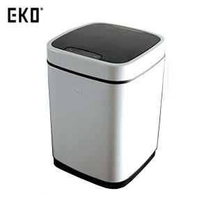 EKO ゴミ箱 エコスマート センサービン ホワイト 9L EK9288P-9L-WH|n-tools
