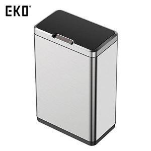 EKO ゴミ箱 ミラージュセンサービン ステンレス 45L EK9278MT-45L|n-tools