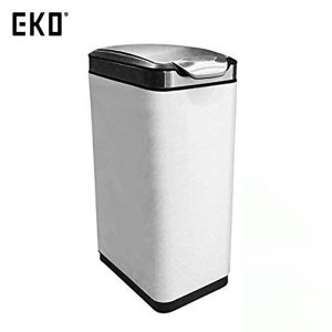 EKO ゴミ箱 ティナタッチビン ホワイト 30L EK9177MP-30L-WH|n-tools