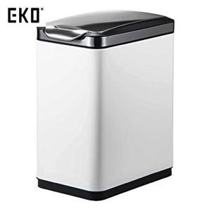 EKO ゴミ箱 ティナ タッチビン ホワイト 20L EK9177MP-20L-WH|n-tools