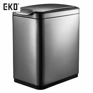 EKO ゴミ箱 ティナ タッチビン ガンメタ 20L EK9177BS-20L|n-tools