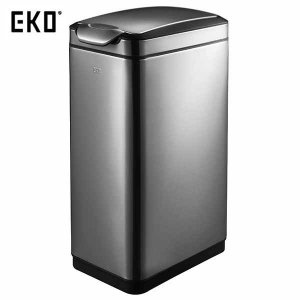 EKO ゴミ箱 ティナ タッチビン ガンメタ 30L EK9177BS-30L|n-tools