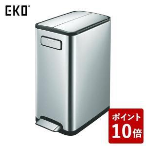 EKO ゴミ箱 エコフライステップビン ステンレス 30L EK9377MT-30L|n-tools