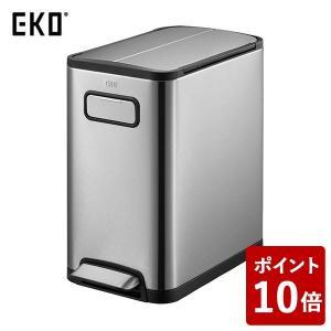 EKO ゴミ箱 エコフライステップビン ステンレス 20L EK9377MT-20L|n-tools