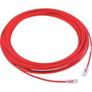 カテゴリ6A細径パッチコード 15m 赤 パンドウイット UTP28X15MRD-6260|n-tools