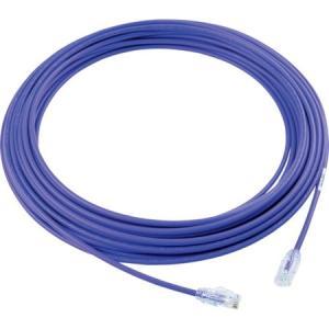 カテゴリ6A細径パッチコード 15m 紫 パンドウイット UTP28X15MVL-6260|n-tools