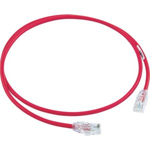 カテゴリ6A細径パッチコード 1m 赤 パンドウイット UTP28X1MRD-6260|n-tools
