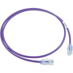 カテゴリ6A細径パッチコード 1m 紫 パンドウイット UTP28X1MVL-6260|n-tools