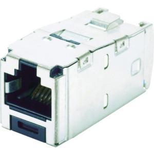 カテゴリ6 シールド付きモジュラージャク パンドウイット CJS688TGY-6260|n-tools