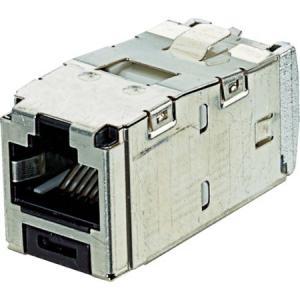 カテゴリ6A シールド付きモジュラージャック パンドウイット CJS6X88TGY-6260|n-tools