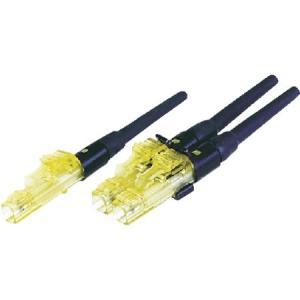 研磨済みLC光コネクタ シンプレックス OM2 パンドウイット FLCSMC5BLY-6260|n-tools
