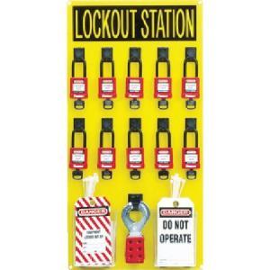 ロックアウトステーションキット 10人用 パンドウイット PSL10SWCA-6260|n-tools