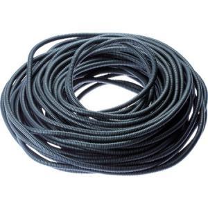 コルゲートチューブ 耐熱性ナイロン6 スリット付き 黒 パンドウイット CLT25NC630-6260|n-tools