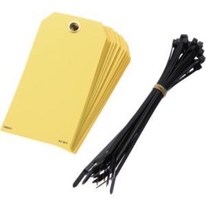 書き込み用カラータグ 黄 (25枚入) パンドウイット PVT95Q-6260 n-tools