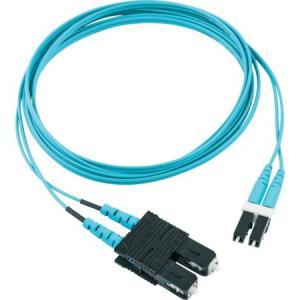 光ファイバーOM3パッチコード 片端SC片端LC 5M パンドウイット FX2ERLNSNSNM005-6260 n-tools