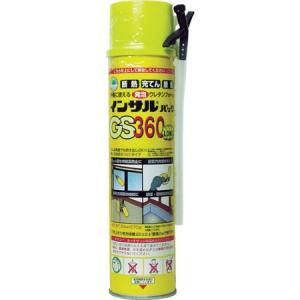 一液型簡易発泡ウレタン(ノズル充填タイプ)NEW-GS360340g ABC GS360-1042|n-tools