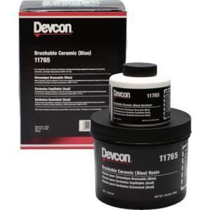 耐蝕・耐摩耗補修剤 ブラッシャブルセラミック赤 2lb デブコン 11760-4075|n-tools