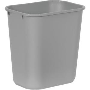 ラバーメイド ソフトウェイストバスケット グレイ エレクター 295675-1063|n-tools