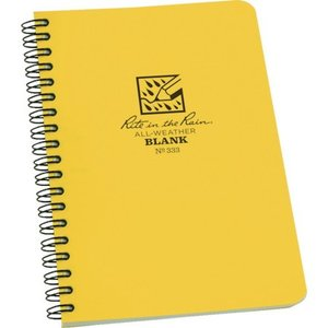 RITR 4 5/8X7 スパイラルノートブック ブランク 333|n-tools