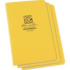 RITR 4 5/8X7 ステイプルノートブック(3冊セット) ユニバーサル イ 371FX|n-tools