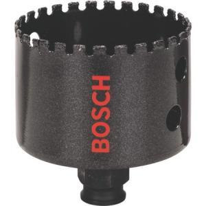 磁気タイル用ダイヤモンドホールソー 65mm ボッシュ DHS065C-6250|n-tools