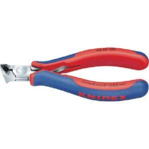 KNIPEX 6432-120 エレクトロニクスエンドカッティングニッパー 6432120|n-tools