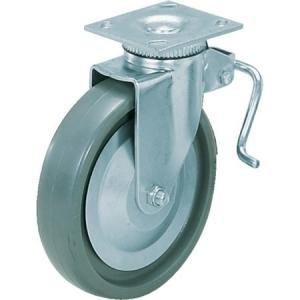 重量用キャスター径203自在ブレーキ付SE(200-139-453 スガツネ工業 SUG31408BPSE-3278 n-tools