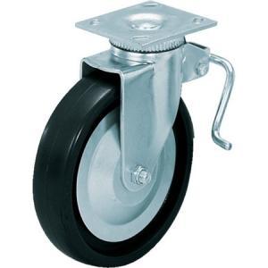 重量用キャスター径152自在ブレーキ付D(200-133-471) スガツネ工業 SUG31406BPD-3278 n-tools
