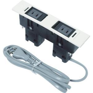 デスクトップマルチタップDML型(210-020-488) スガツネ工業 DMLPPWT-3278 n-tools