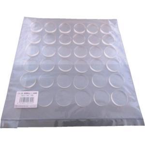耐震ゲル 転倒防止シート お徳用 径30X5mm(丸型) エクシール GT530D-1383|n-tools