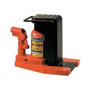 低床・レバー回転・安全弁付爪つきジャッキ 爪能力5t イーグル G100T-1029|n-tools