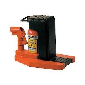 低床・レバー回転・安全弁付爪つきジャッキ 爪能力5t 爪ロングタイプ イーグル G100TL-1029|n-tools