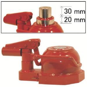イーグル 2段伸ビ・レバー回転油圧ジャッキ能力10t ED100TST|n-tools